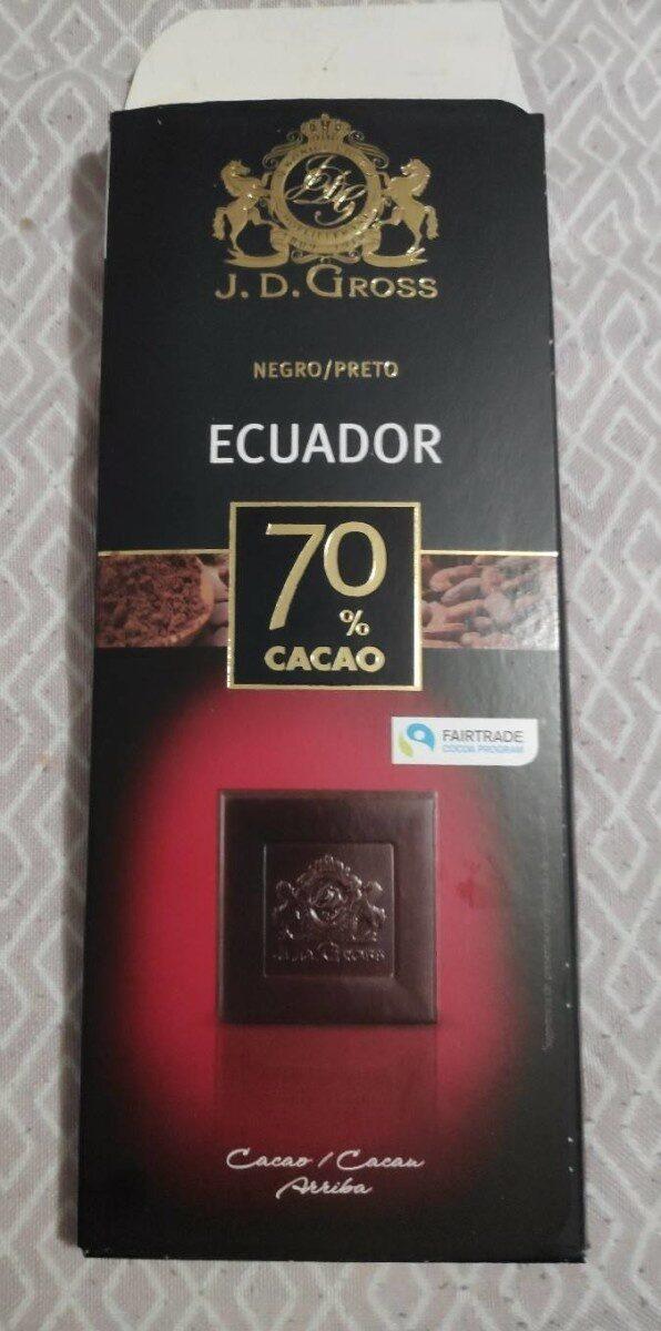 Chocolat noir dégustation 70% - Prodotto - en
