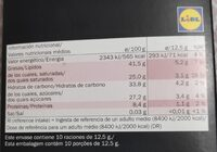 Chocolat noir dégustation 70% - Nutrition facts - en