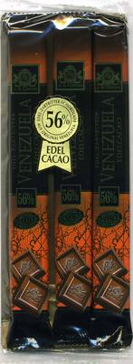 Edel-Zartbitter-Schokolade Venezuela 56% Kakao - Producto - es