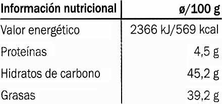 Edel-Zartbitter-Schokolade Venezuela 56% Kakao - Información nutricional - es
