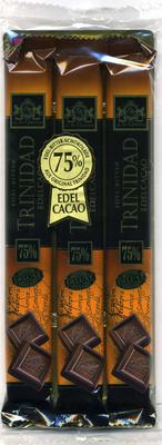 Edel-Bitter-Schokolade Trinidad 75% Kakao - Produkt