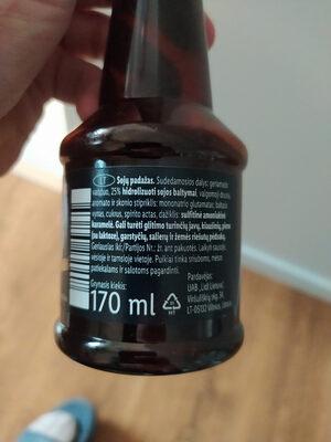 Soju padazas - Ingredients - lt