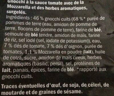 Gnocchi Pomodoro In Fruchtiger Tomaten Sauce Mit - Ingrediënten