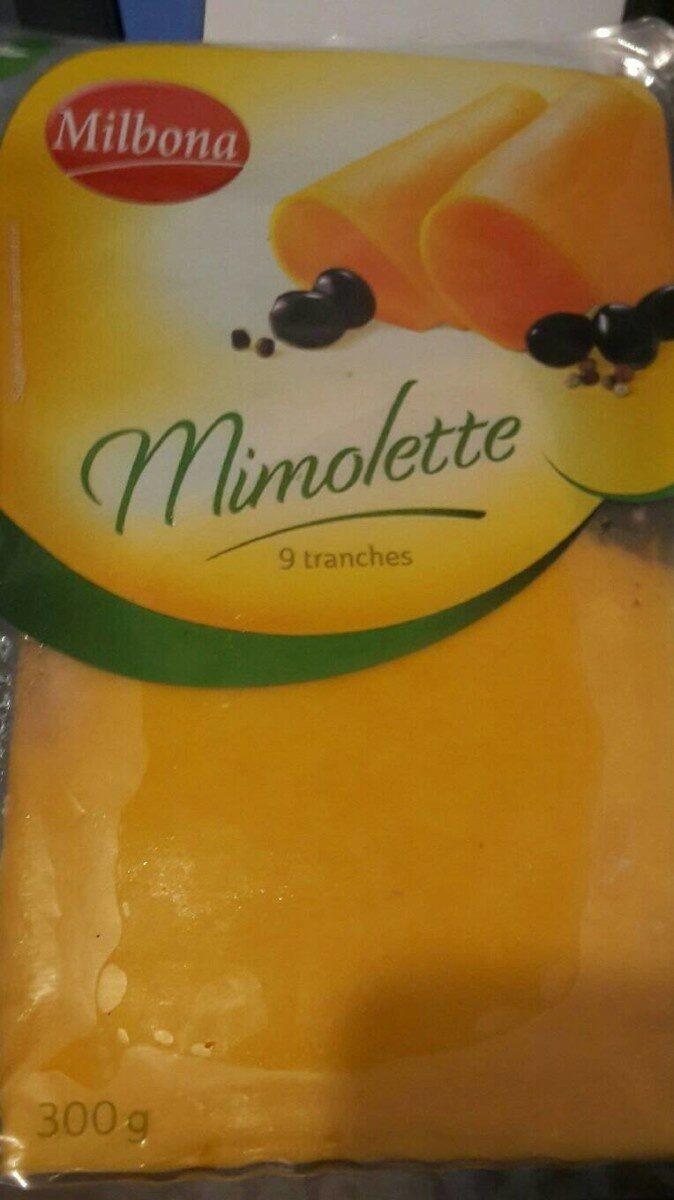 Mimolette - Informations nutritionnelles - fr