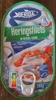 Heringsfilet in Paprika-Creme - Produit - de