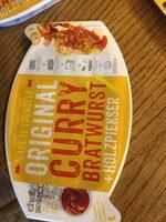 Currywurst Lidl, Mit Echter Bratwurst - Producto