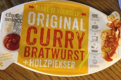 Original curry bratwurst - Producto - de