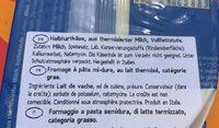 Provolone - Ingredientes