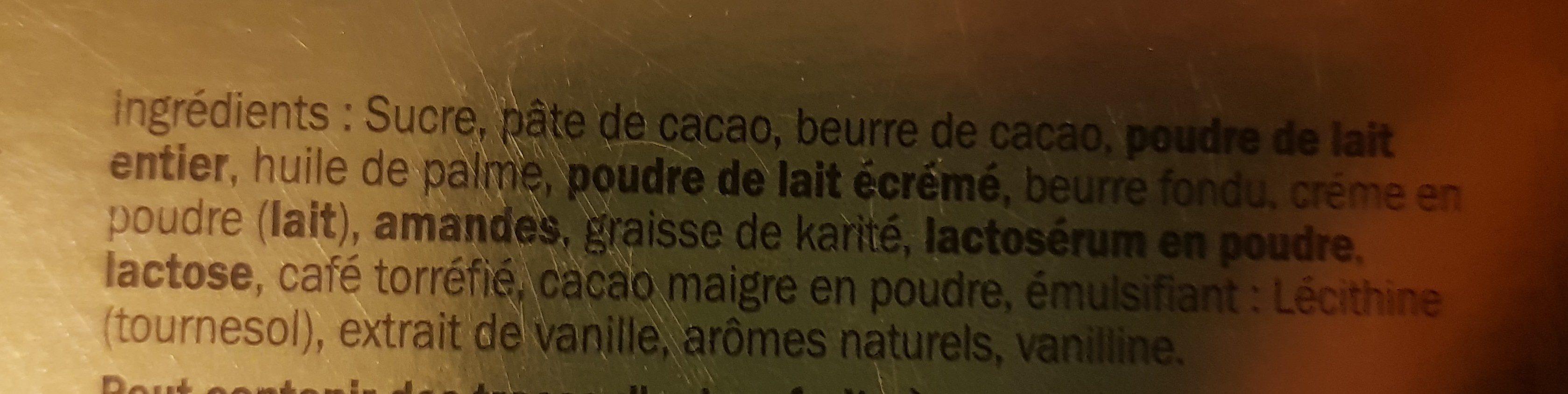 Selezione di cioccolato assortito - Ingrédients - fr