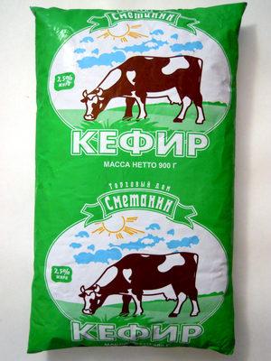 Кефир 2,5 % жира - Продукт - ru