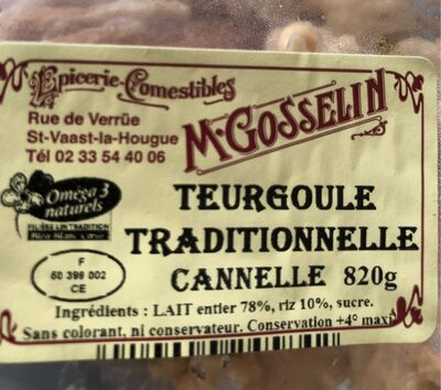 Teurgoule Traditionnelle Cannelle - Product - fr