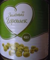 Консервы овощные стерилизованные «Горошек зеленый» - Product - ru