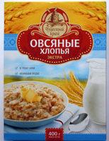 Овсяные хлопья «экстра» - Produit - ru