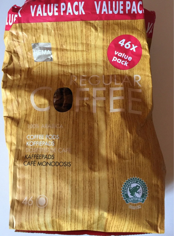 Regular coffee - Produit - fr