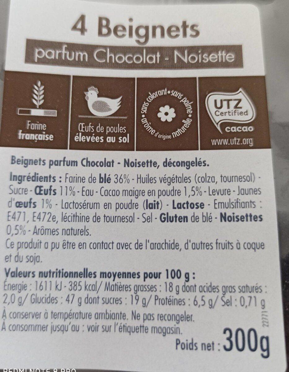 Beignets parfum Chocolat - Noisette - Product - fr