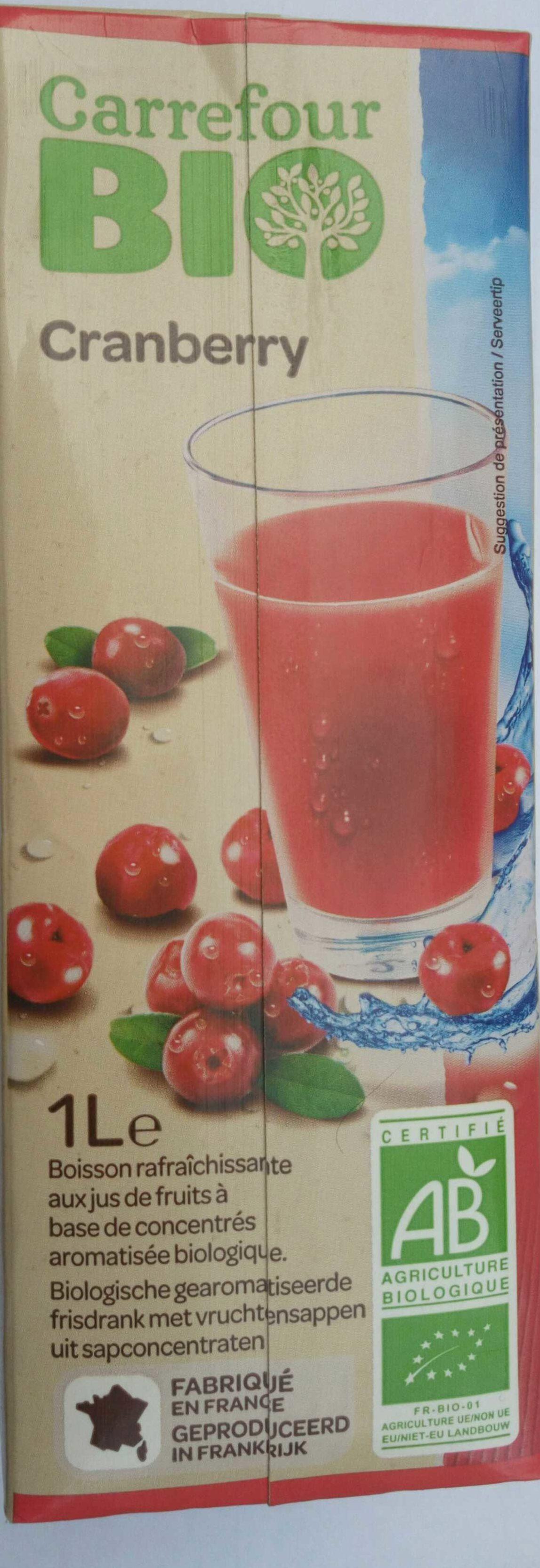 Cranberry - Produit