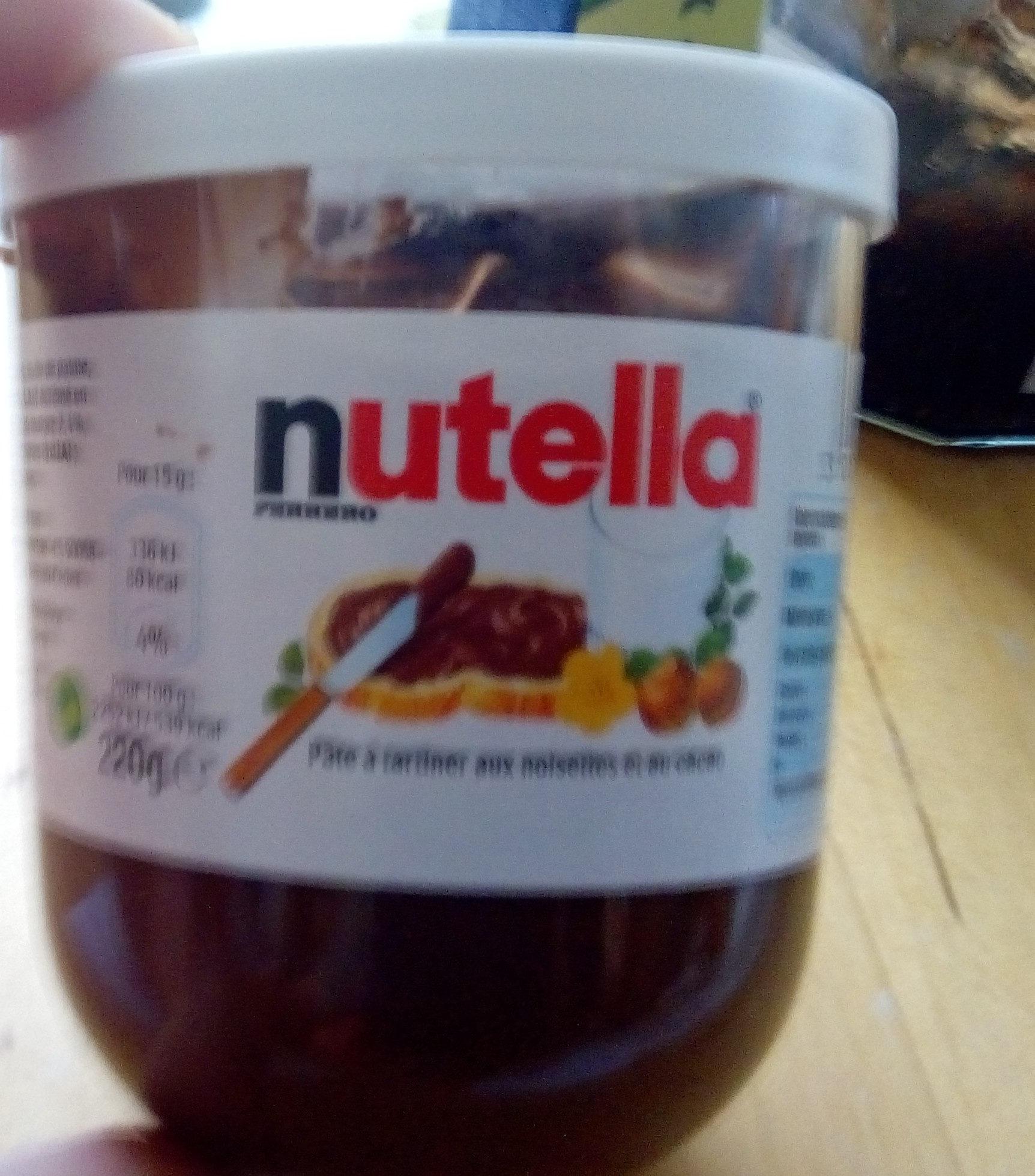 nutella - pot 220 gr