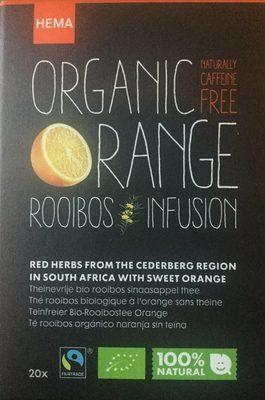 Organic Orange Rooibus Infusion - Product - nl