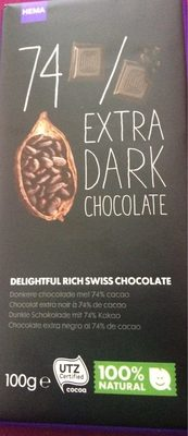 Chocolat extra dark - Product