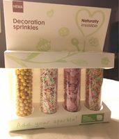 Decoration spinkles - Produit