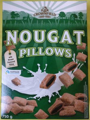 Nougat pillows - coeur fondant goût chocolat & noisette - Product - de