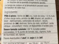 Kit pizza - Ingrédients - fr