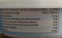Goldessa Cream Cheese Light - Informations nutritionnelles - fr