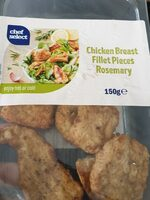 Chiken breast  fillet  pieces rosemary - Product - nl