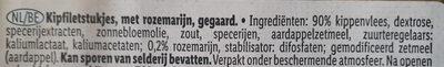 Chiken breast  fillet  pieces rosemary - Ingrediënten - nl