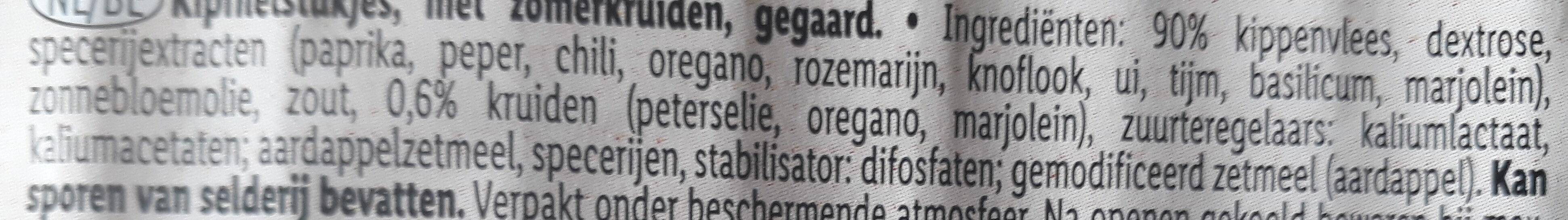 Chicken - Ingrediënten - nl