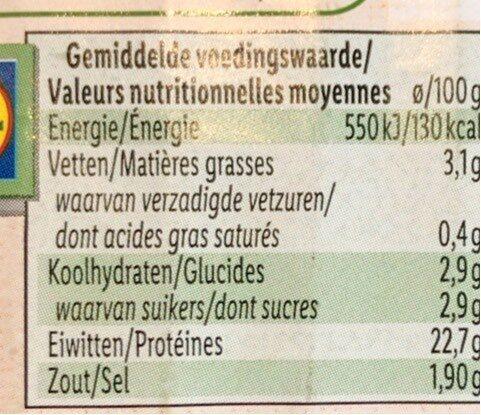 Chicken - Voedingswaarden - nl
