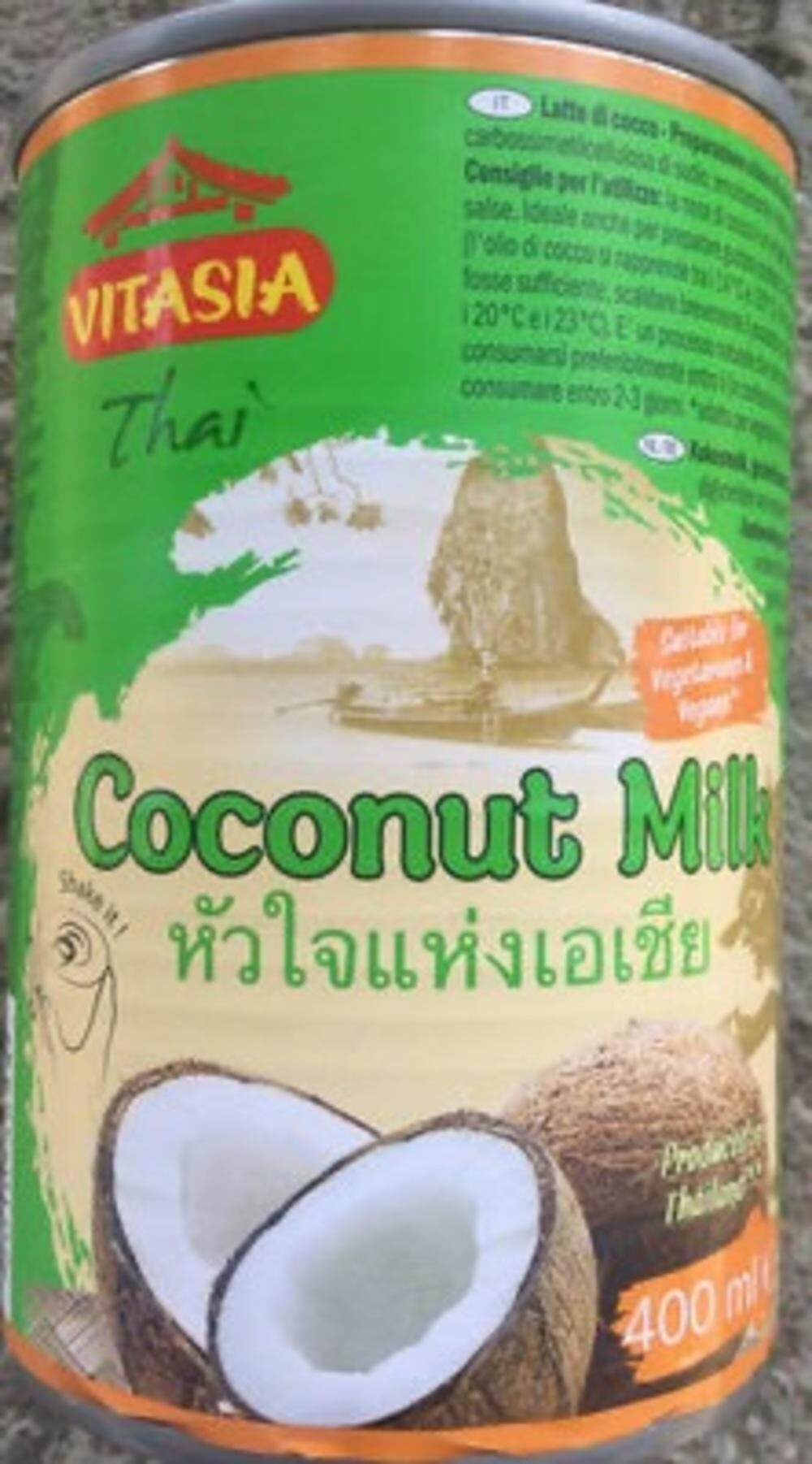 Kokosové mléko sterilované - Produit - fr