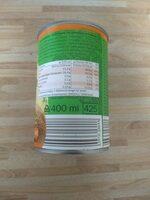 Kokosnussmilch / Lait de coco - Informations nutritionnelles