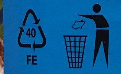 Kokosové mléko sterilované - Instruction de recyclage et/ou informations d'emballage - cs