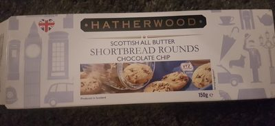 Shortbread chocolate chip - Produit - fr