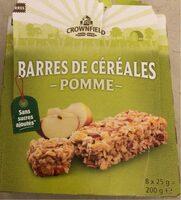 Barre de cereales pomme - Produit - fr