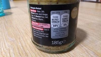 Wholegrain mustard - Ingrediënten