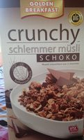 Golden Breakfast Crunchy Schlemmer Müsli, Schoko - Product