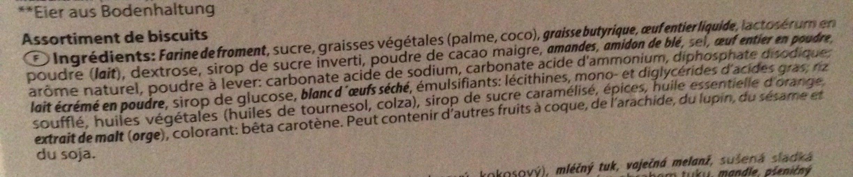 Biscuits - Ingredienti - fr