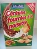 Céréales fourrées à la noisette - Product