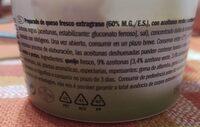 Crémeux aux olives - Nutrition facts - es