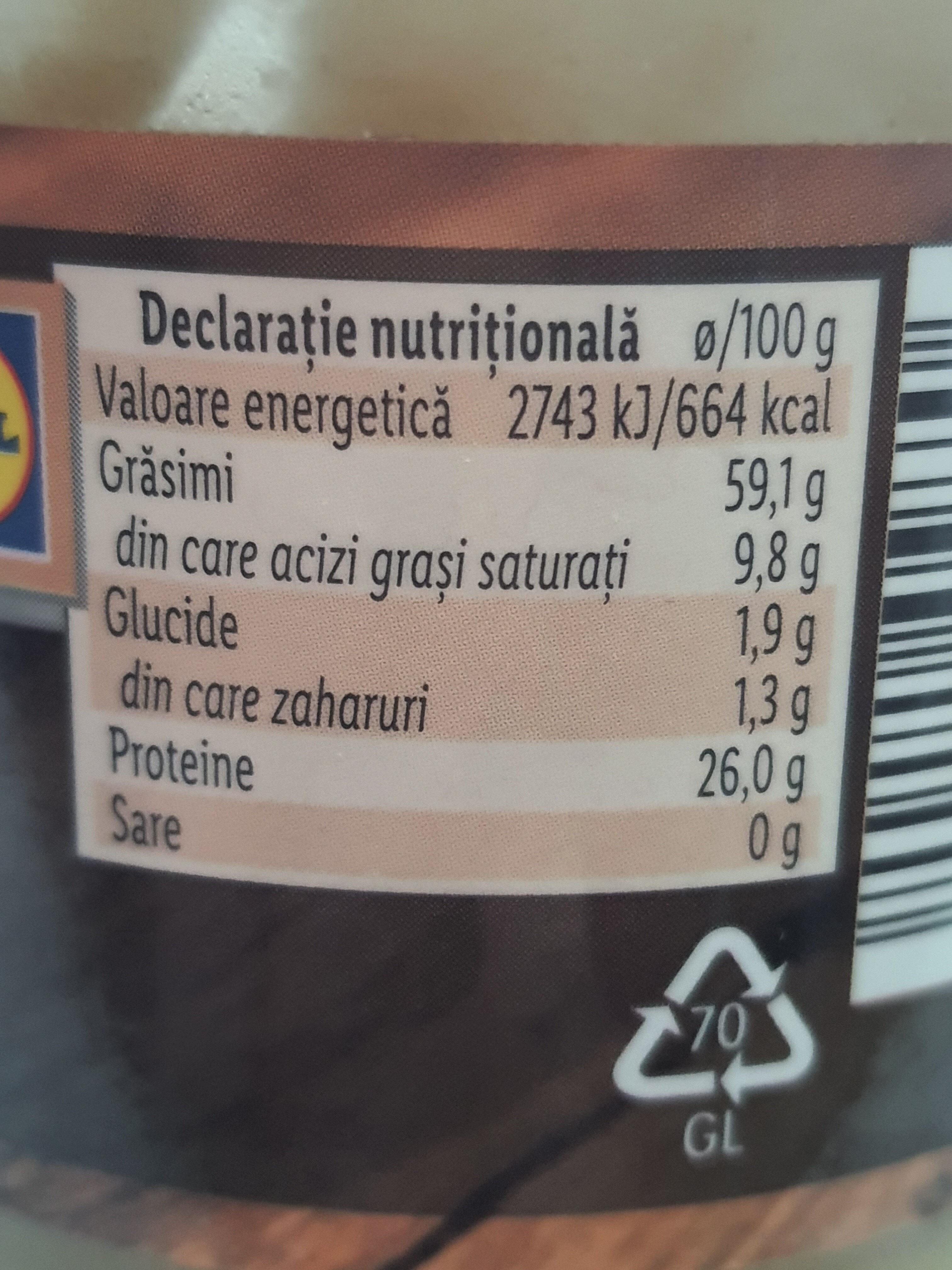 Mikado Tahini Pasta de susan - Nutrition facts - ro