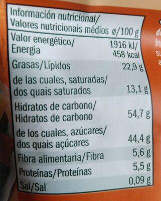Studentenfutter Exotic - Nutrition facts - de