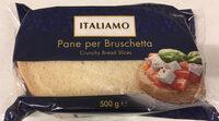 Tranches de pain Bruschetta - Produit - fr