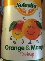 Orange et mangue - Product