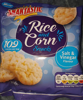 Snaktastic rice and corn - Product - en