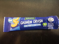 Cashew crush raw fruit and nut bar - Product