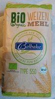 Bio Weizen Mehl Type 550 - Produkt