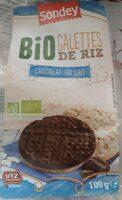 Galettes de riz chocolat au lait - Producto - fr