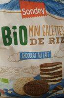 Mini galettes de riz Chocolat au lait - Prodotto - de